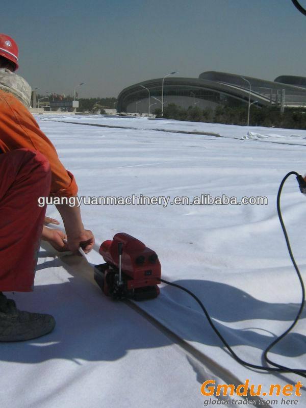 Hot air welding machine