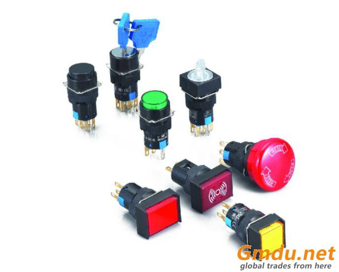 16Ø Push Button Switch Series