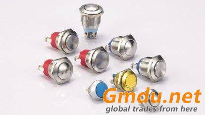 Metal Button Switch Made in Taiwan