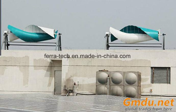 FX-2kw Low Wind Speed Start Maglev Vertical Axis Wind Turbine Generator (VAWT)