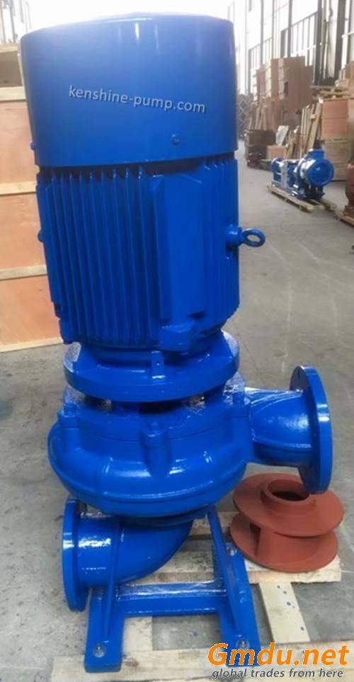 LW Vertical pipeline sewage pump