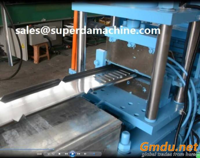 Superda Automatic electric cabinet enclosure roll forming machine
