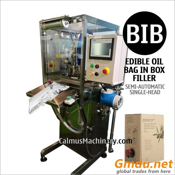 Edible Cooking Oil Packaging Equipment Bag in Box Filling Machine