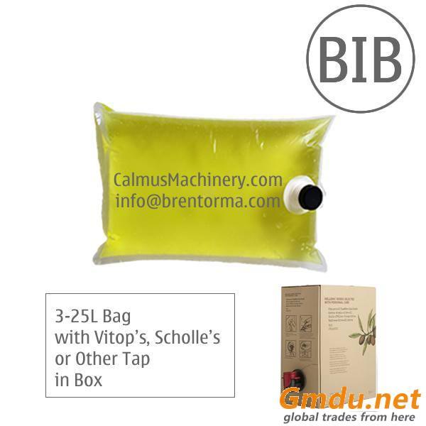 Fully-automatic 3-5-10-20 Litre BIB Edible Oil Filling Machine WEB Bag in Box Filler