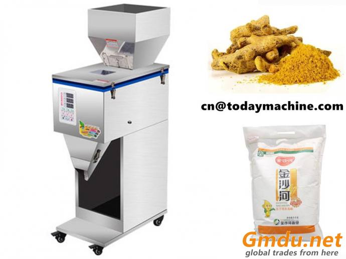 Powder Filling Machine with Vibration System for pepper,turmeric,flour
