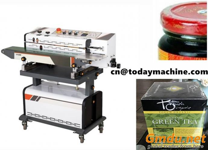 Air suction Gas flushing Band Sealer sealing and packaging snack
