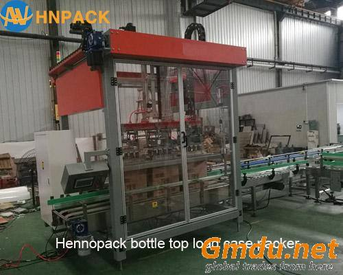 Automatic Case Packer Product for mineral water bottle carton box packer