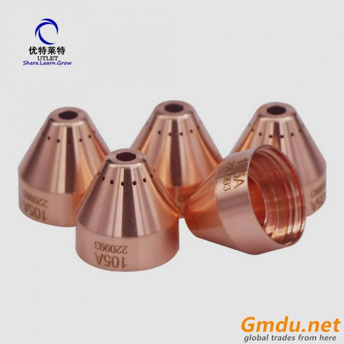 Plasma cutting 105A electrode 220842,Nozzle 220990, cap 220854
