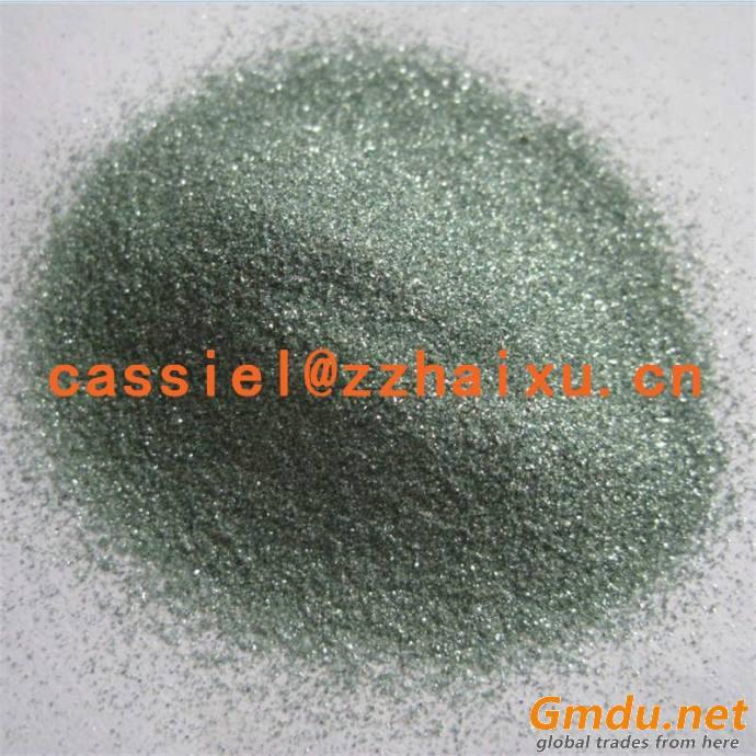 Sandblasting media Green Silicon Carbide grit