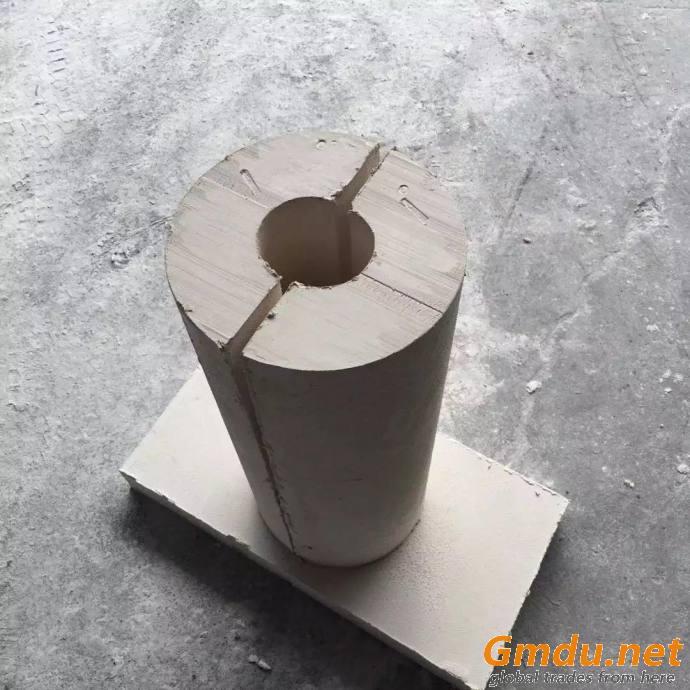 Calcium silicate pipe