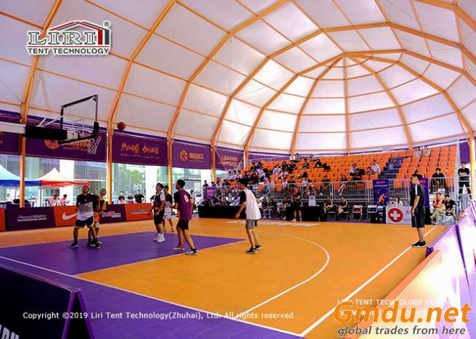 Marquee tent for Sport Court