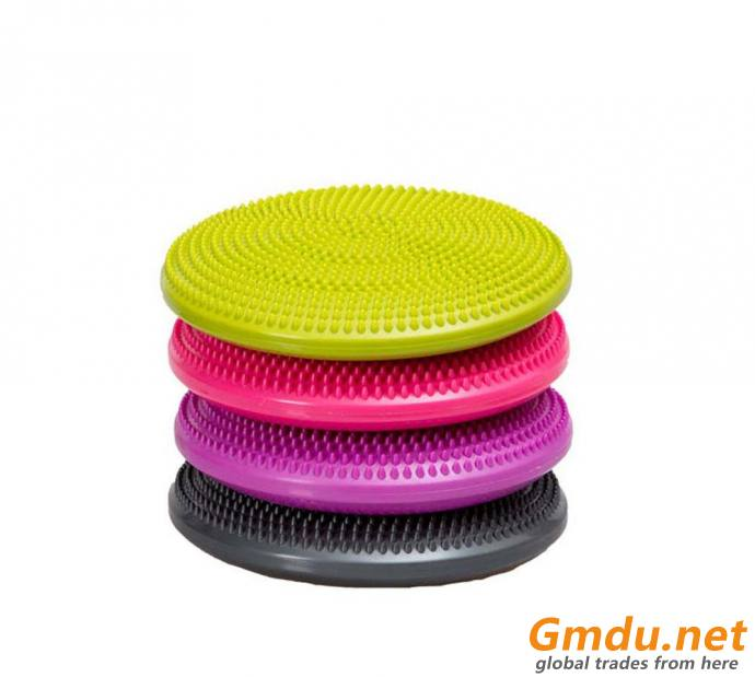 Body-building Exercise Colorful Massage Balance Disc Seat Air Cushion