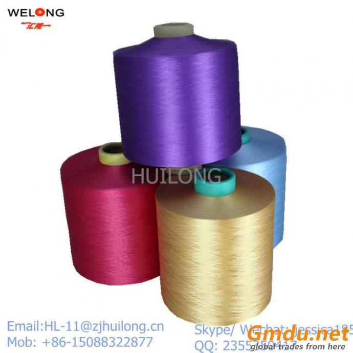 color dty 450 denier 144 filament HIM