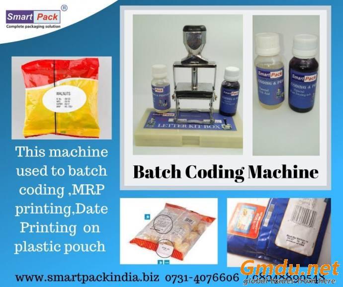 manual batch coding machine in chandigarh
