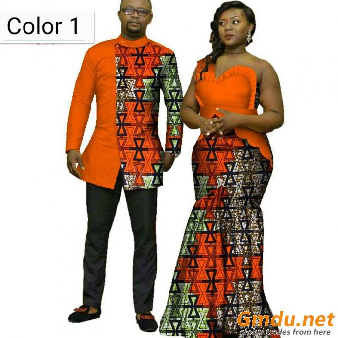 African couple Fashion