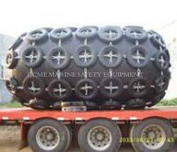 Marine pneumatic rubber fenders