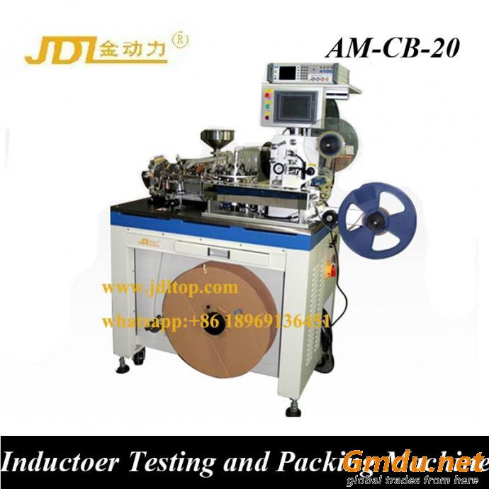 Inductor Testing and Packaging Machine