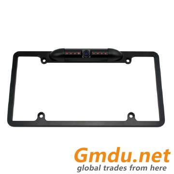 LICENSE PLATE FRAME BACKUP CAMERA WITH NIGHT VISION