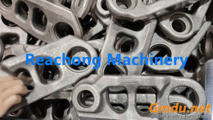 EX100-1 Hitachi track link with bolt and nut