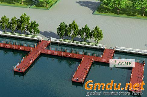 Floating Marina Dock Floating drums Floating pontoons