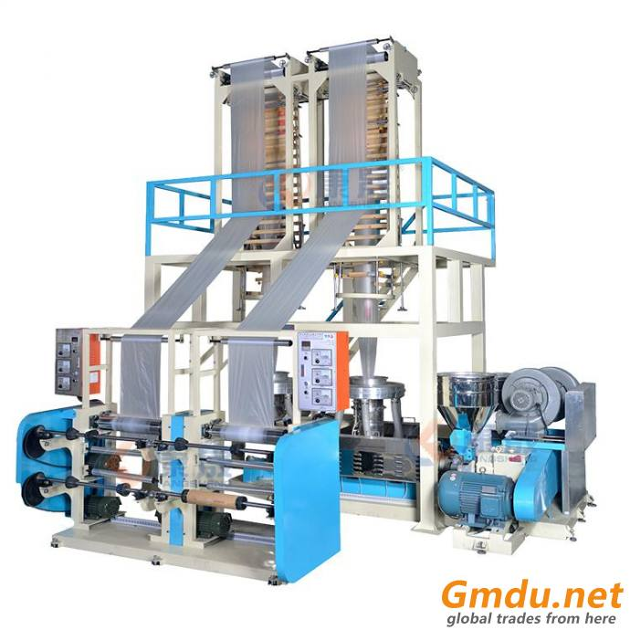 ABA two layer co-extrusion film blowing machine