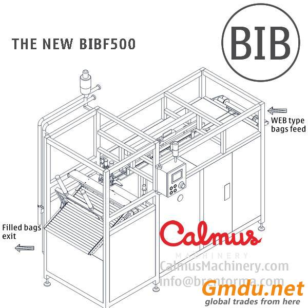The NEW BIBF500 Fully-automatic BIB Bag Filler Equipment Bag in Box Filling Machine