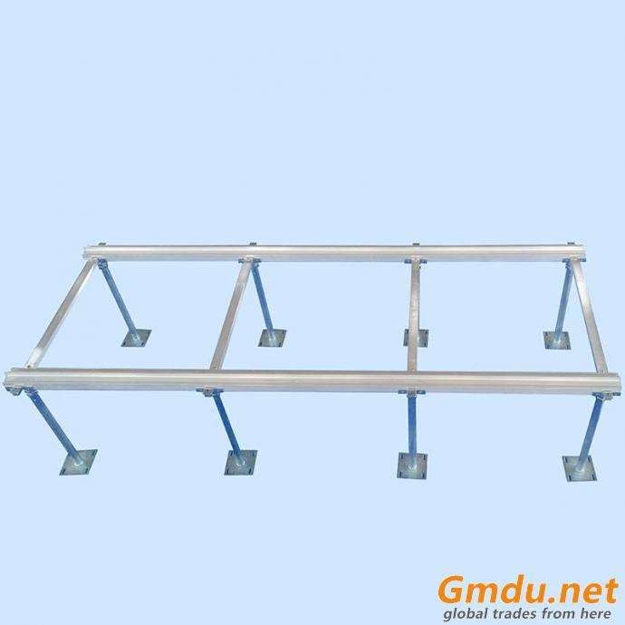 Modular Aluminum Alloy Column Track Pedestal System FFH: 300mm