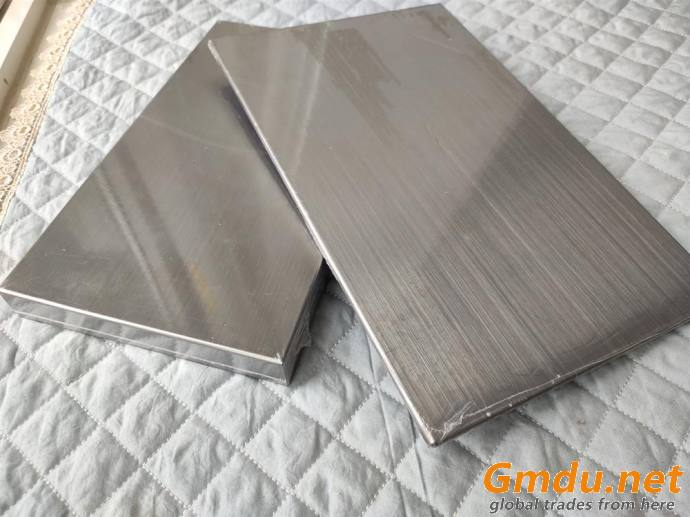 Aluminum Honeycomb Panel with 316 stainless steel face for wall panels