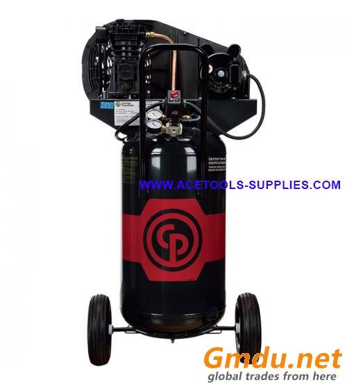 Portable Electric Air Compressor Chicago Pneumatic - 2 HP, 26 Gallon Vertical, 7.0 CFM