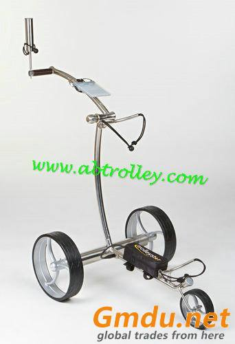 Noble 007E electrical stainless steel golf trolley