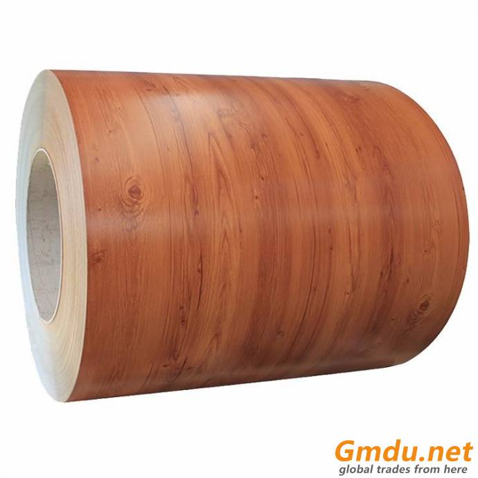 Color coated steel sheet in coil