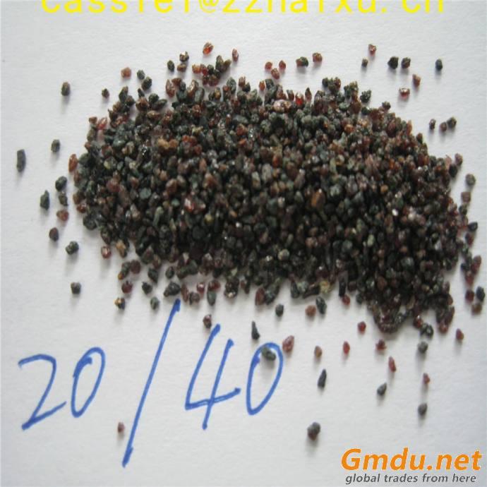 rock garnet brown