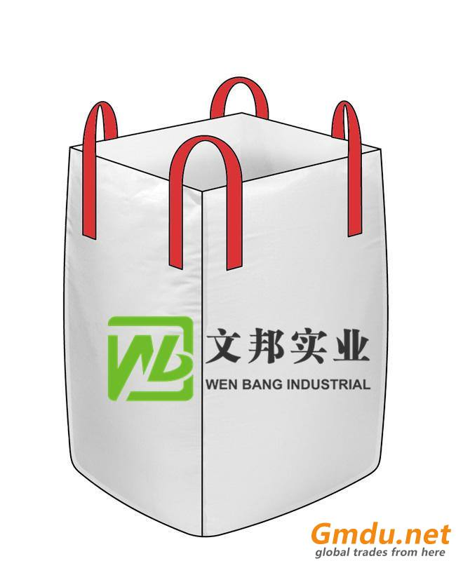 PP bulk container bag for sand and cement/PP woven jumbo bag/big bulk bag