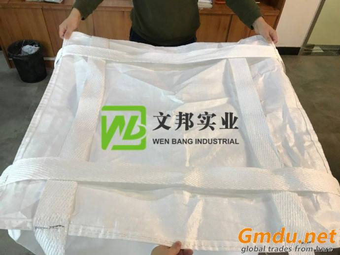 pp big bag with customized printing UV treated 1 ton jumbo bag