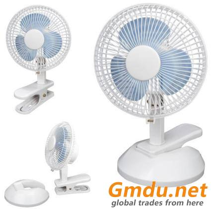 "6"" CLIP FAN (2in1): CRJF-6 (2in1)"