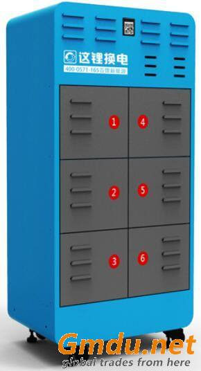 Scooter Safe Charging Quick Exchange Intelligent Battery Swap Station