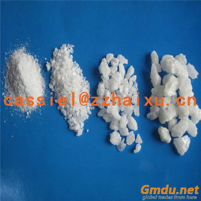 white fused alumina section sand