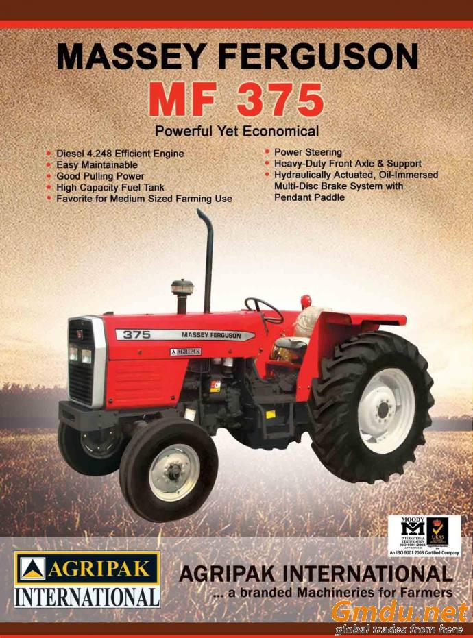 MASSEY FERGUSON 375 ( 75hp ,2wd)