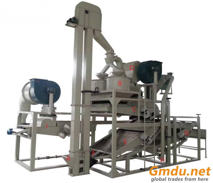 Hemp Seed Shelling Machine / Hemp Seed Sheller / Hemp Seed Huller