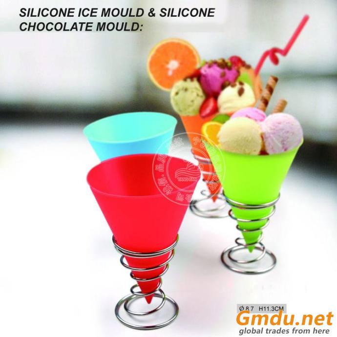 silicone ice cream cup