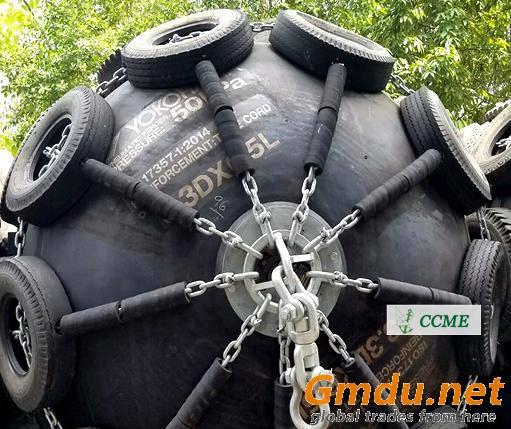 Marine yokohama pneumatic rubber fender