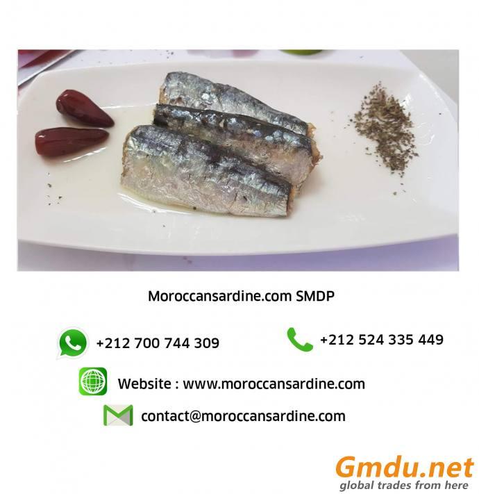 Moroccan Sardines Privat Label