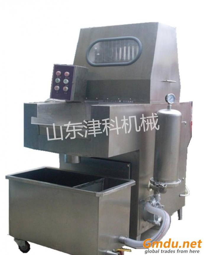 Automatic chicken meat brine injection machine and meat saline injector