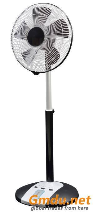 Uzaktan kumanda ve zamanlayıcı ile 16 inç salınan ince stand ve masa fanı CRSF-1616 (E)