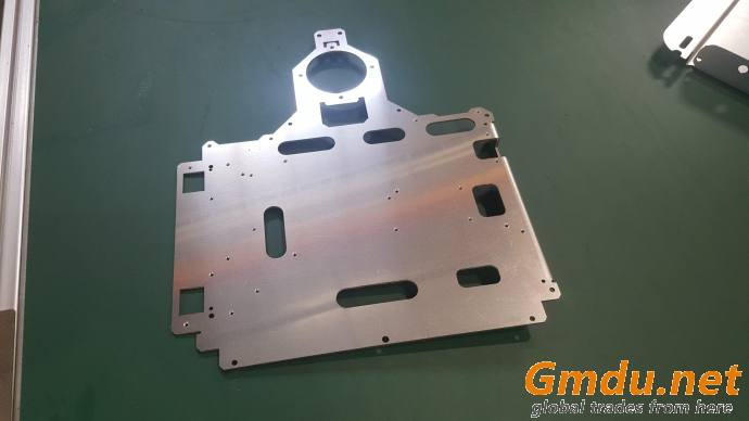 Laser and bending part