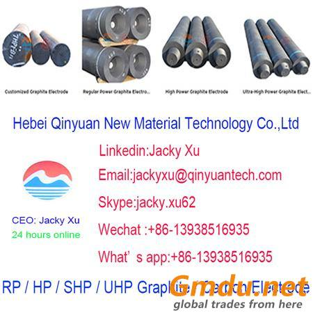 UHP 400*2100mm graphite electrode for ladle furnace