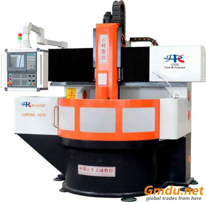 4 axis cnc lettering machine for tyre mold sideplate