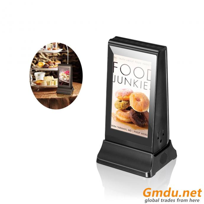 Coffee shop bars WiFi 7 Inch Android Table Advertising Player