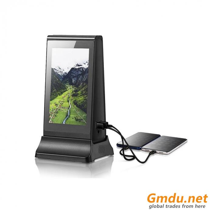 Digital Table Advertising Restaurant Power Bank