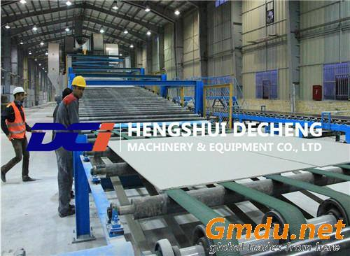 High Performance Plasterboard Production Line